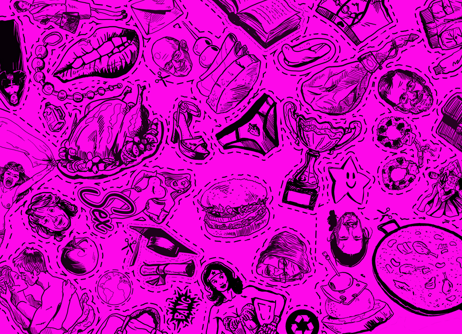 Pink Game. Instalación realizada durante el Festival de Arte Político y social : SPIEL ART. Munich. 2015. Zarva Barroso.