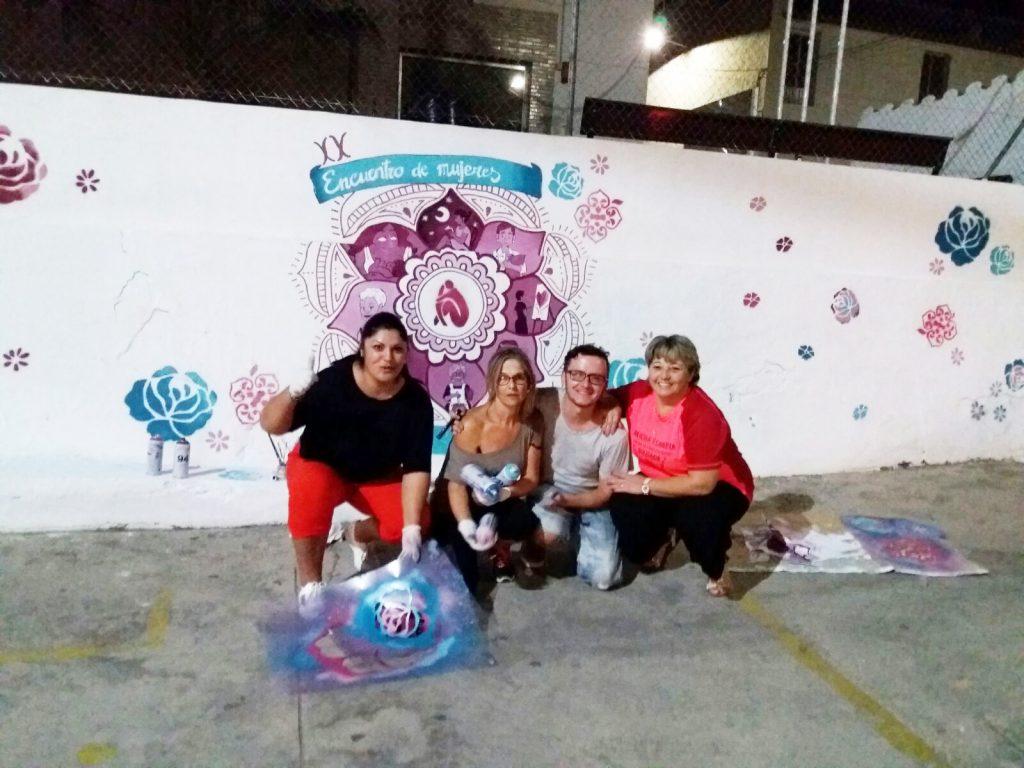 Mis chicas. XX Encuentro de Mujeres de la Serranía, Pedralba.