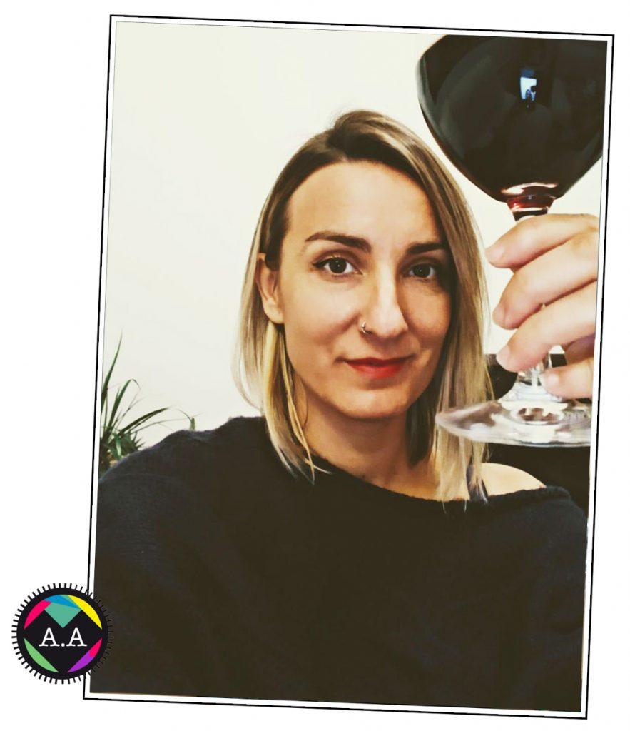 UN vinito con Ana Arregui. Zarva barroso. Blog. 2017