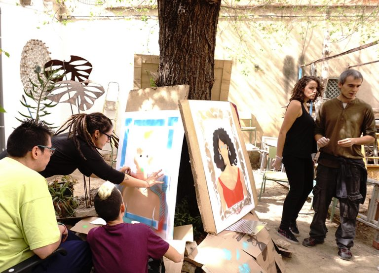 Proyecto Identidades. Albacete. Olga Parra y Zarva Barroso