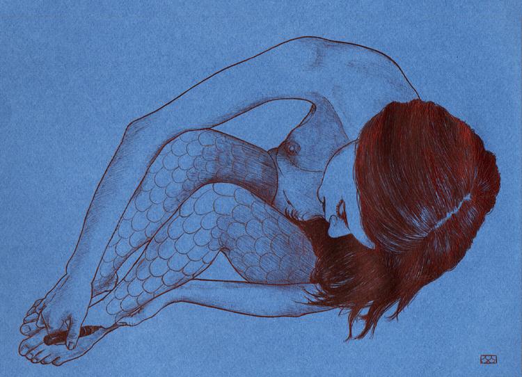 Sirena ciudad. Cristina Geneiro (Pura linea).