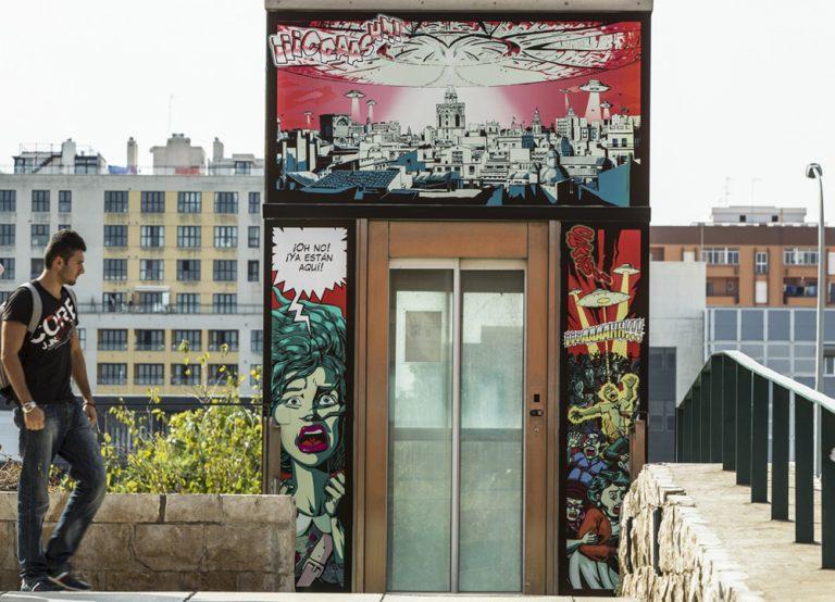 Ufo. Viñetas Vivas. Zarva Barroso. Art Public, 2013.