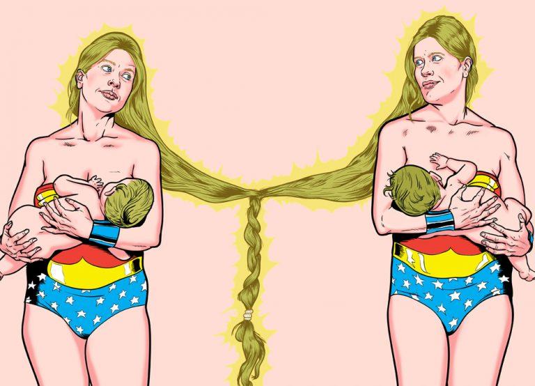 Wonder women. Wonder woman nº 3 y 4: Gema y Mónica (art al quadrat) Zarva Barroso
