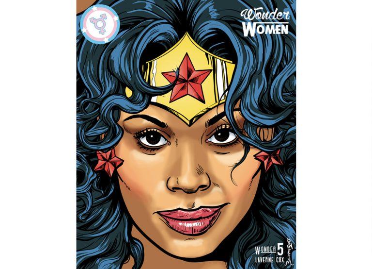 Wonder women. Wonder woman nº 5: Laverne Cox. Zarva Barroso. 2017.
