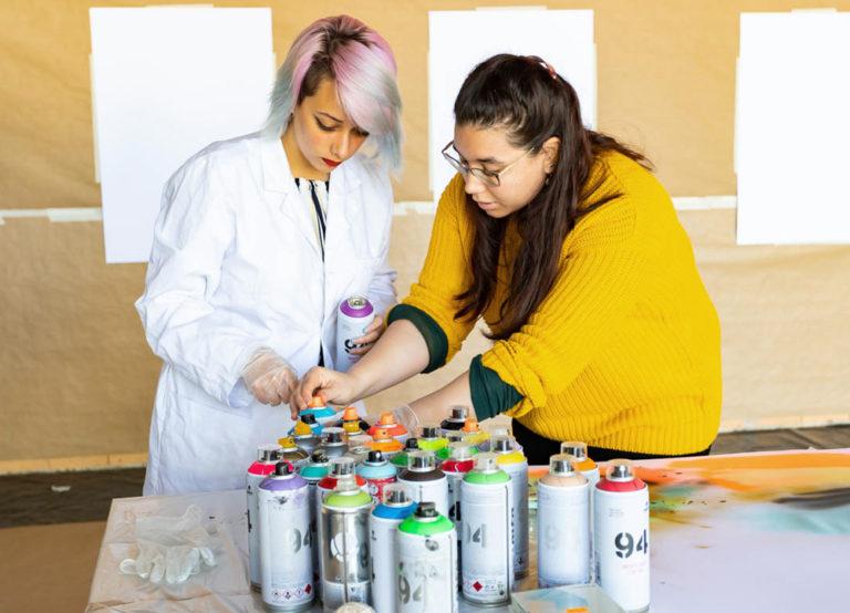 Proyecto Identidades. Olga Parra y Zarva Barroso