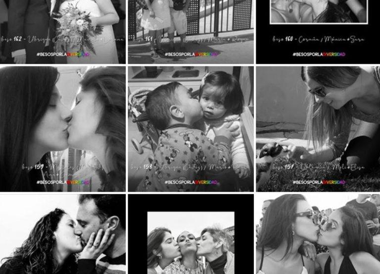 Besos por la Diversidad. Zarva Barroso. 2019.