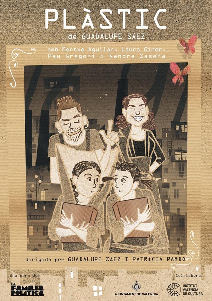 Plàstic. La Familia política. Guada Sáez. Ilustración de Zarva Barroso. Diseño Sandra Sasero.
